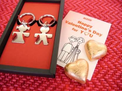 Cova & ALESSI バレンタインコラボギフト