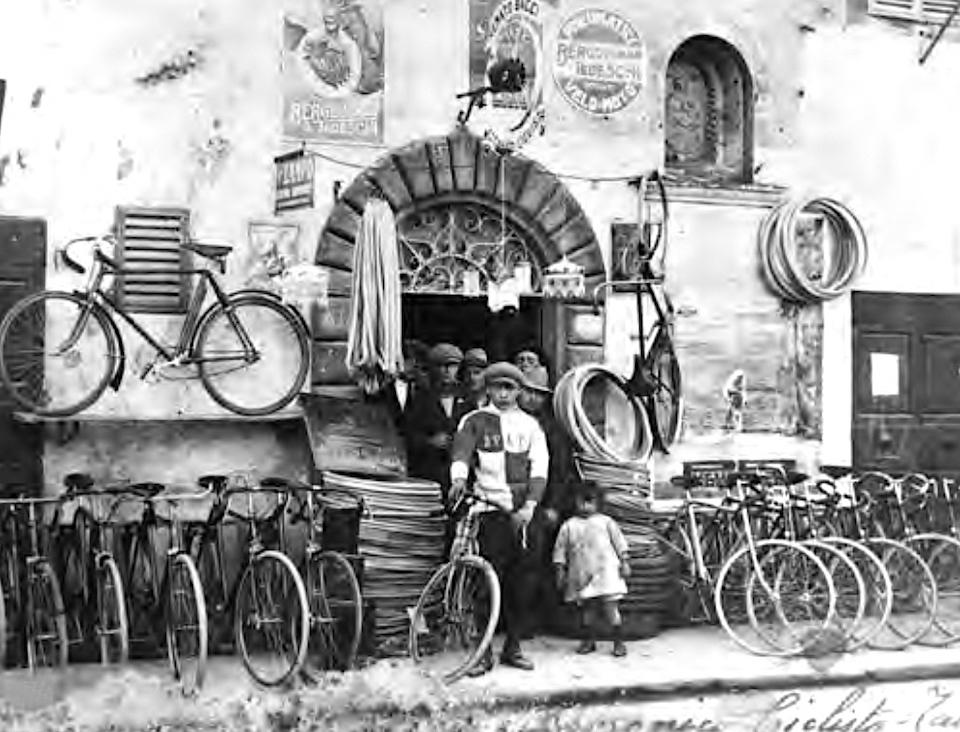 祖父が営んでいた自転車製作所