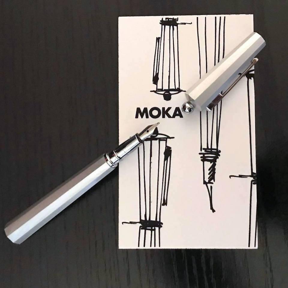 筆記具『モカ』のイメージスケッチ
