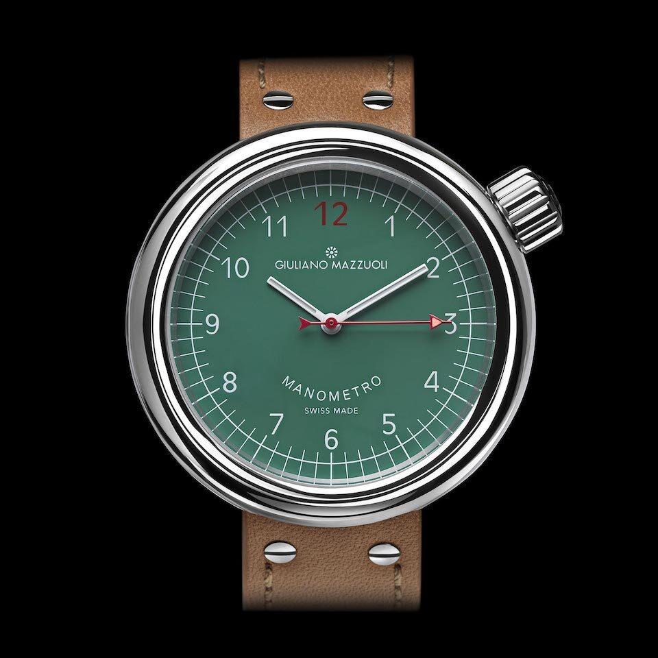 『マノメトロ』腕時計