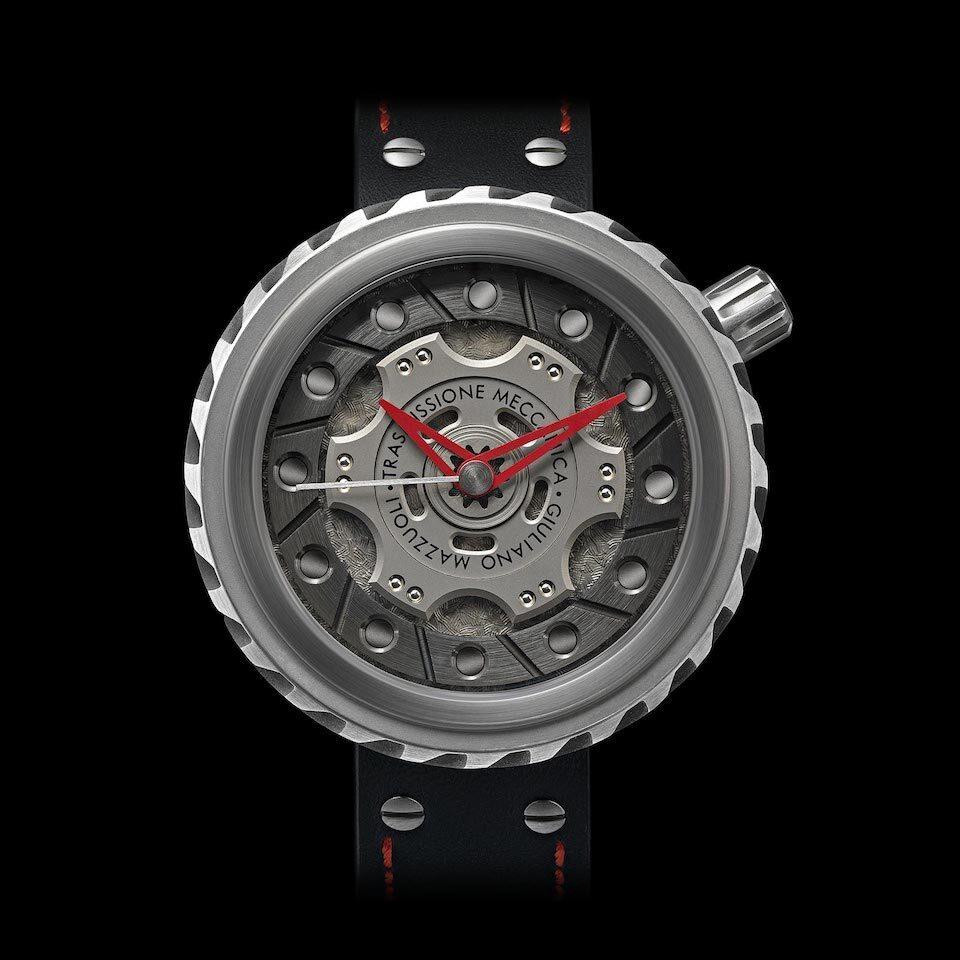 『トラスミッシオーネ・メッカニカ』腕時計