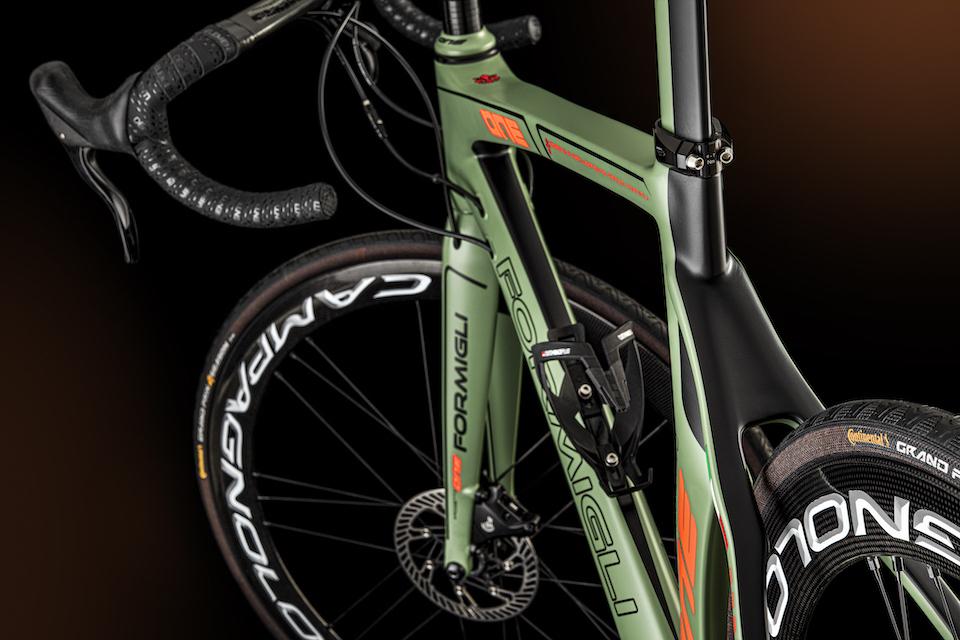 緑の自転車の詳細