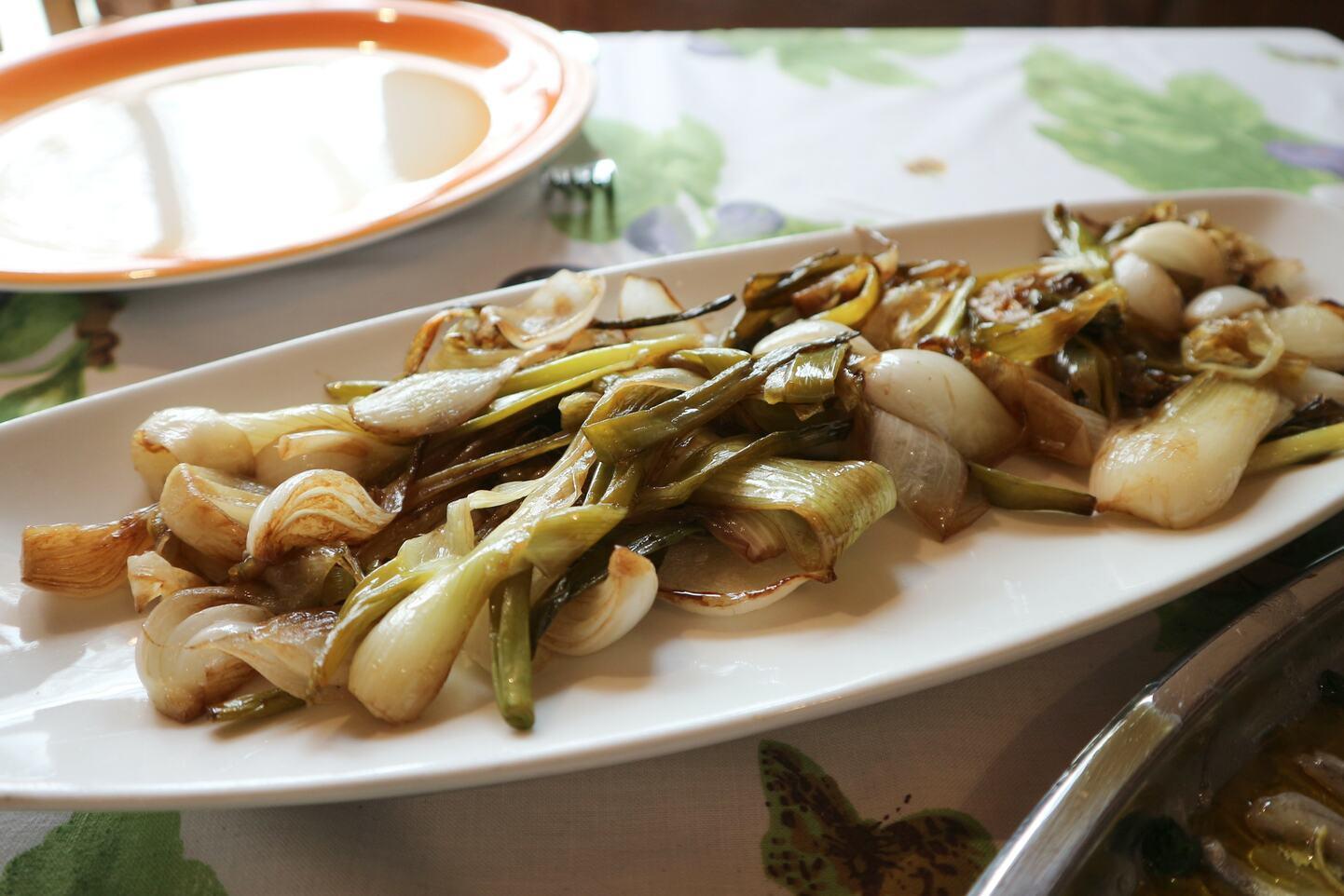 玉ねぎのバルサミコ酢炒め