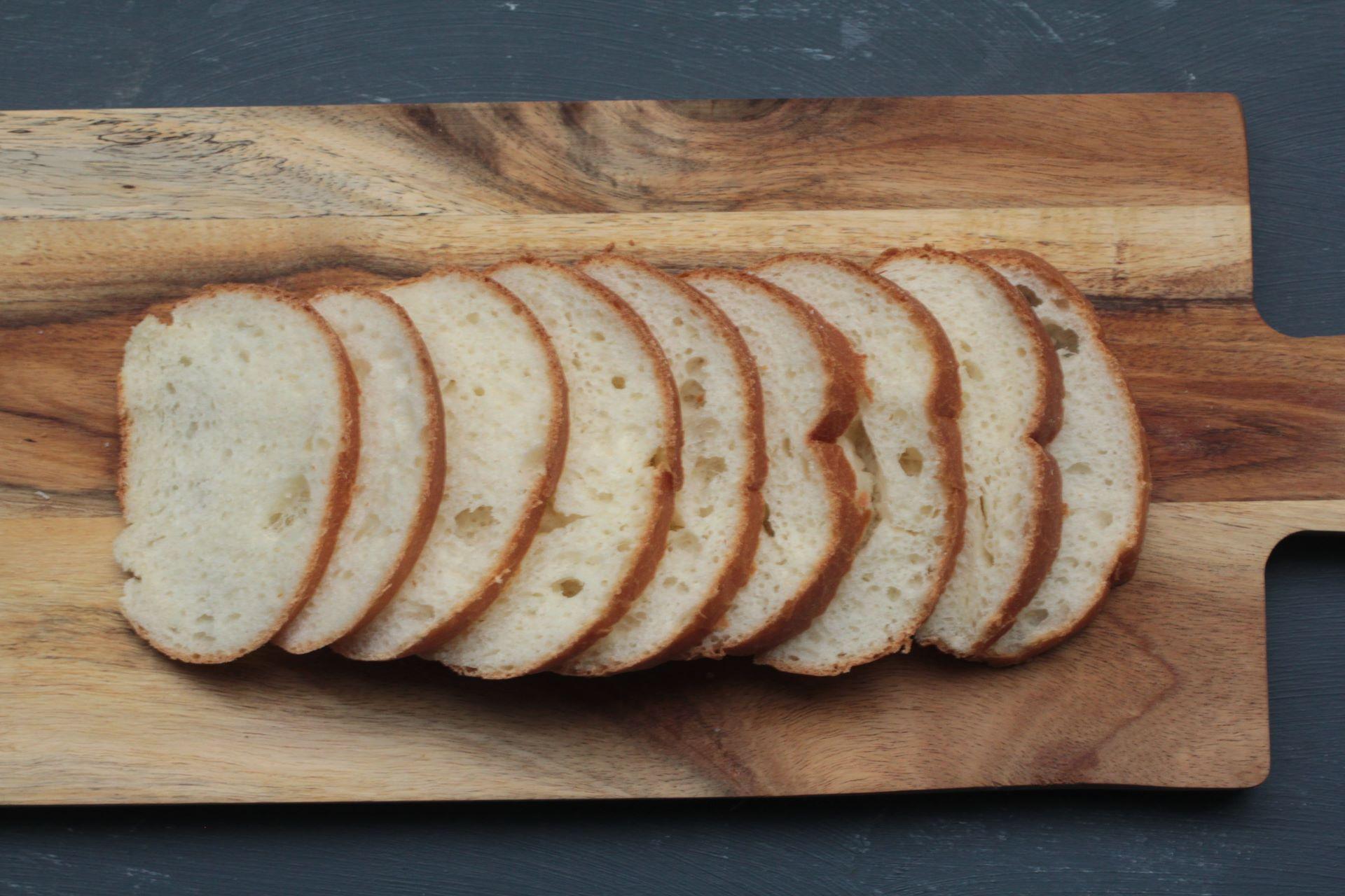 パンのスライス