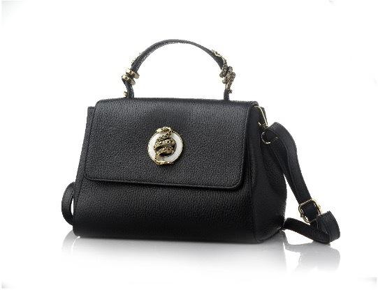 黒いハンドバッグ