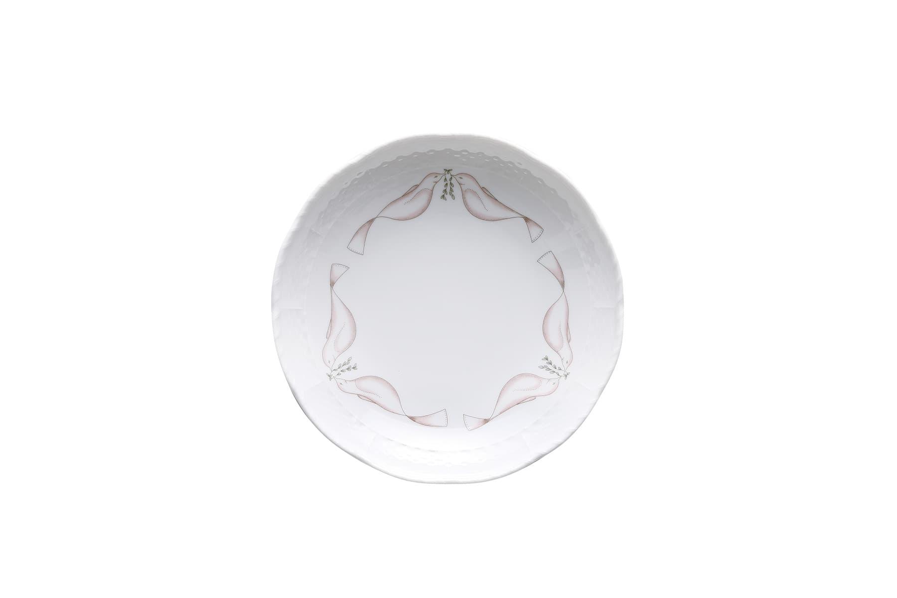 スペランツァ ディッシュラウンドL 19cm 4,400円(税込)/GINORI 1735(ジノリ 1735)