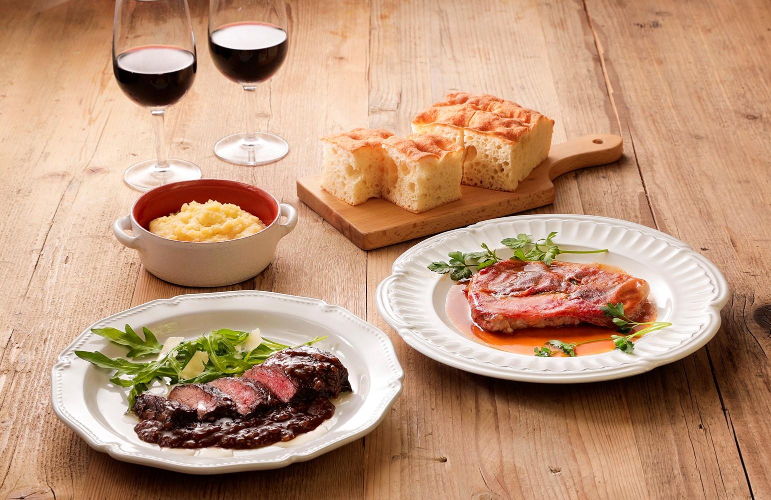 【味わい豊かなお肉対決】イタリアンカルネセット
