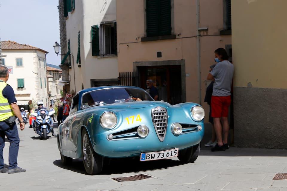 ミラノのカロッツェリア、トゥリングの軽快なボディが映えるアルファ ロメオ1900Cスーパースプリント(1954年)