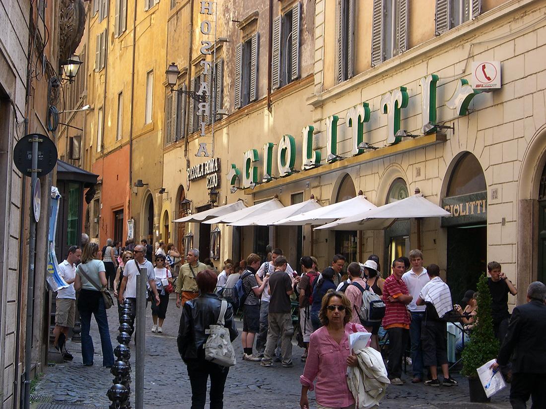 ジョリッティのローマ本店