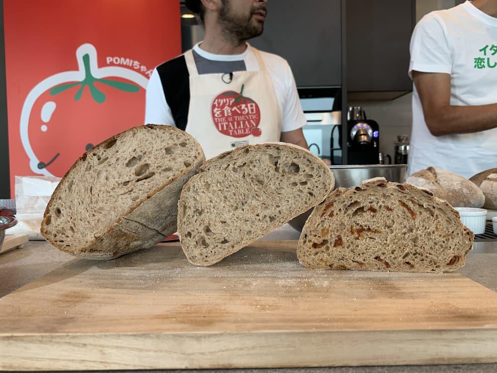角谷シェフが作ったふすまパン