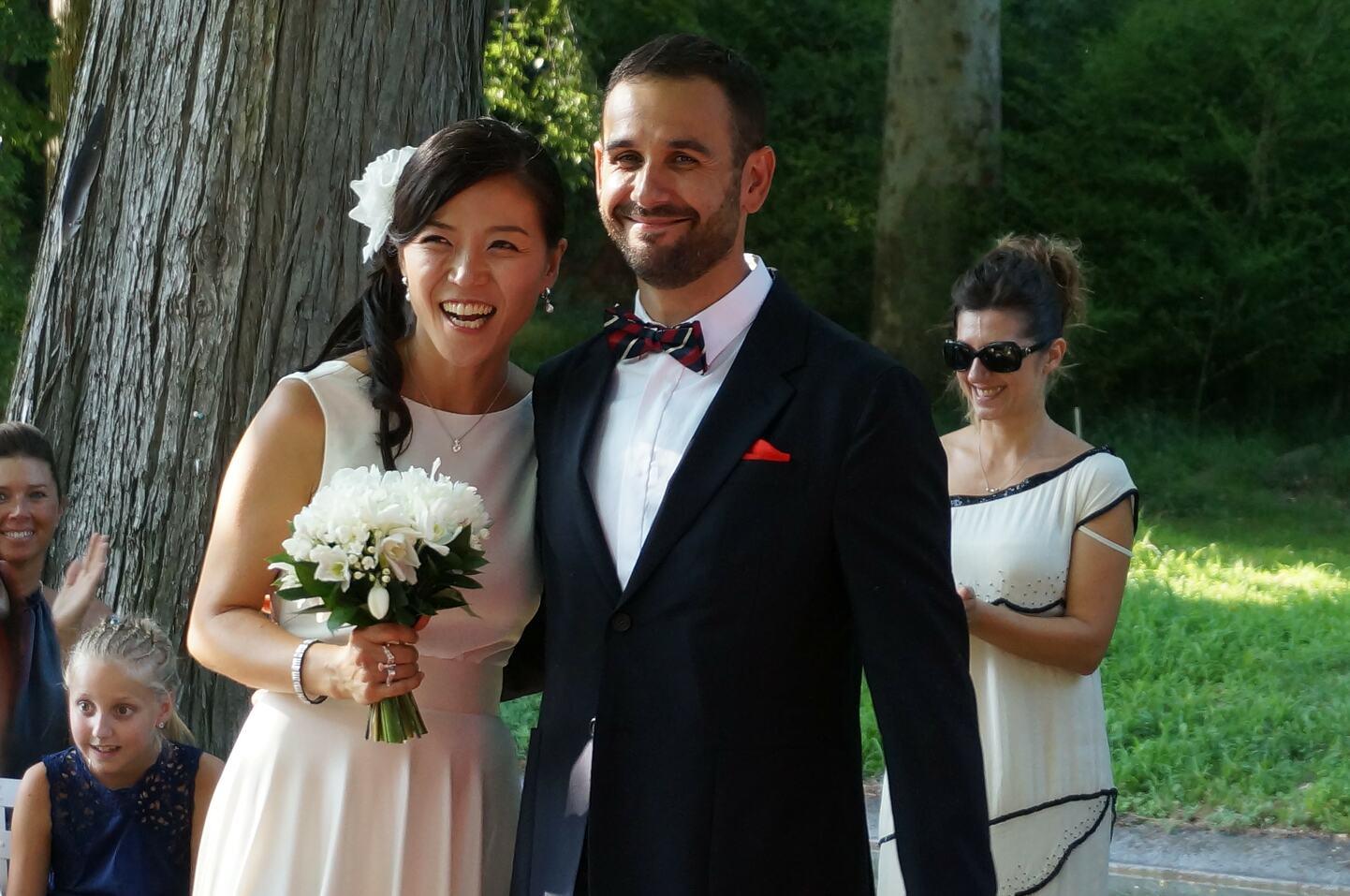 韓国出身サン氏の結婚式
