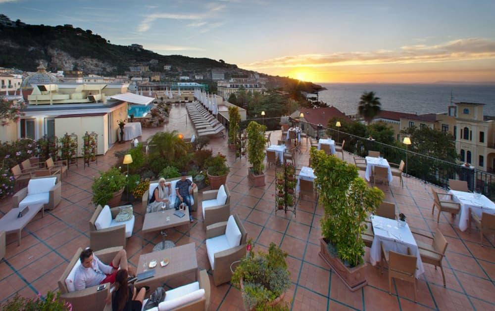 Grand Hotel La Favoritaの「Terrazza Bellavista」