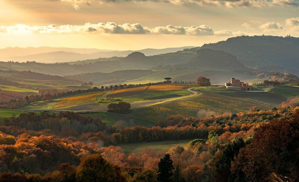 美しい田舎風景が広がるモンテロソラ (写真提供 ArtHouse PR)