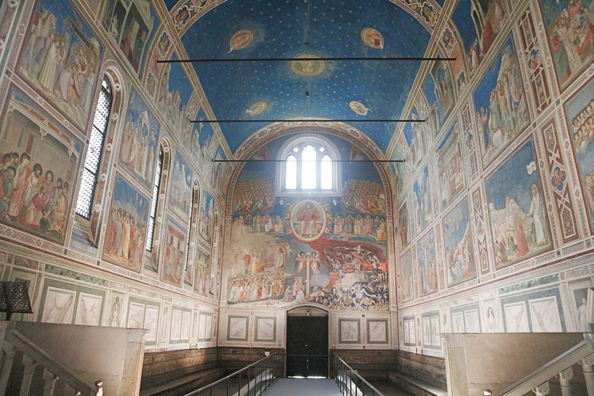 2021年新たに世界遺産になった1スクロヴェーニ礼拝堂