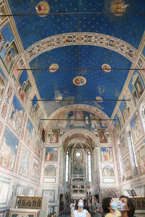 2021年新たに世界遺産になったスクロヴェーニ礼拝堂