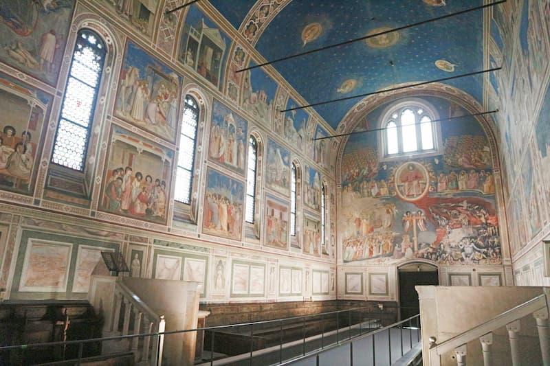 新たに世界遺産になったスクロヴェーニ礼拝堂