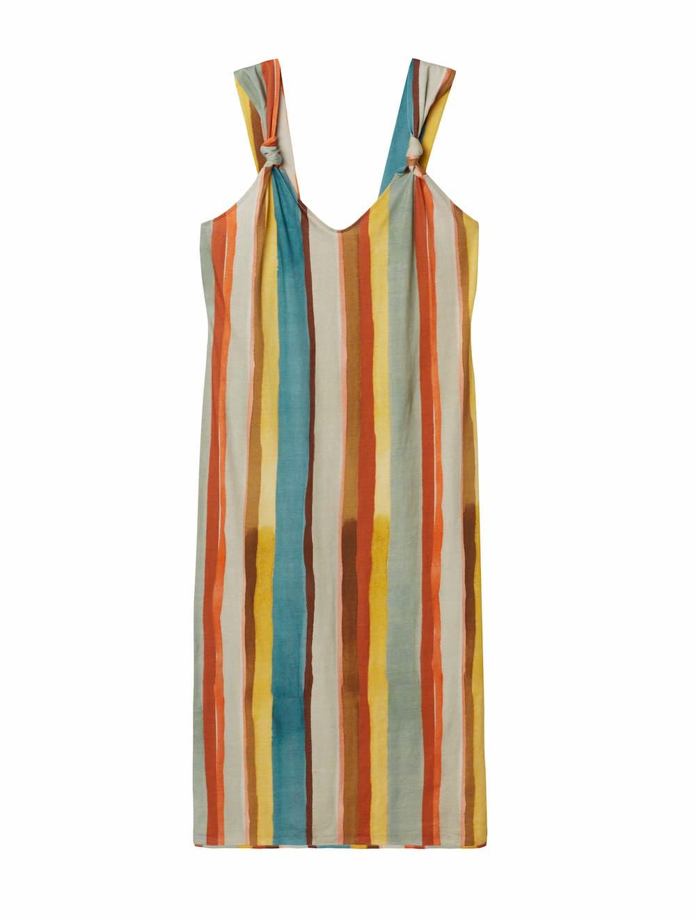 Color Stripes ウルトラフレッシュ スーピマコットン® ロングスリップ 7,990円(税込)/Intimissimi(インティミッシミ)