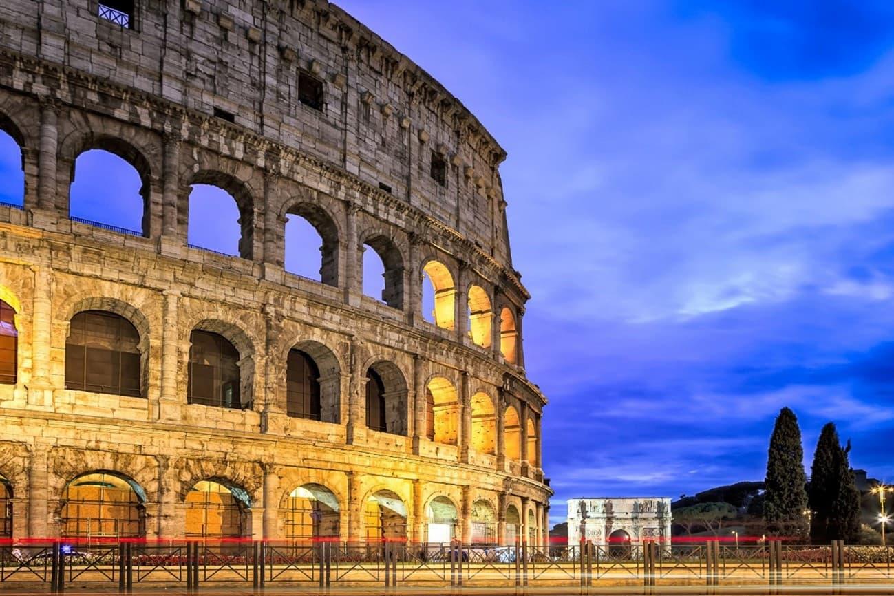 ローマコロッセウムの写真