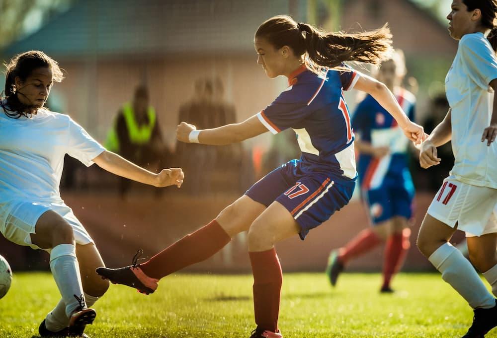 女子サッカーのイメージ