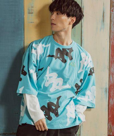 オミニ総柄ビッグTシャツ 3,960円(税込)/Kappa(カッパ)
