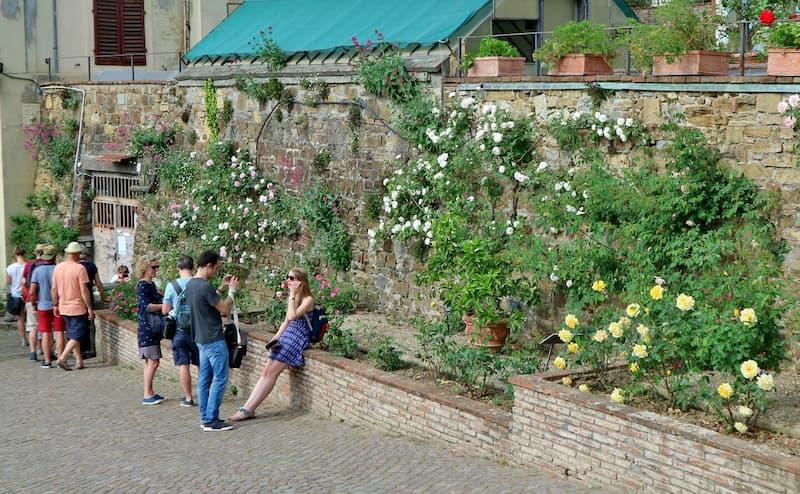 ローズガーデン(il giardino delle rose