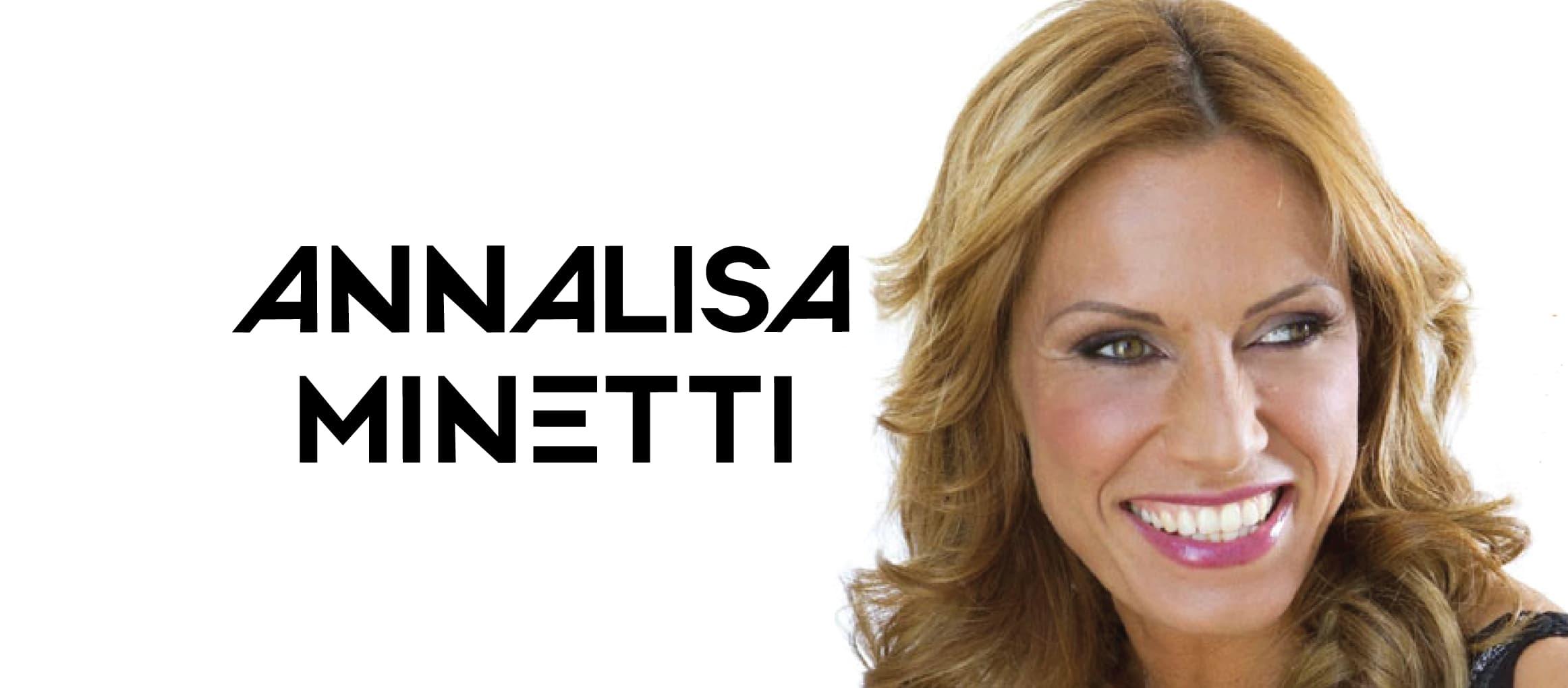 パラリンピックメダリストにしてサンレモ優勝歌手アンナリーザ・ミネッティ
