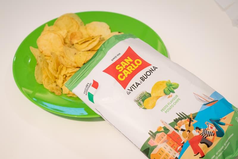 イタリアポテトチップス市場60%のシェアを誇るイタリア人が愛するポテトチップスブランド「サンカルロ」