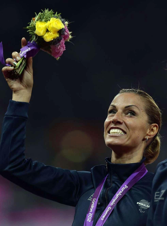 パラリンピック2012ロンドン大会でメダリストに!