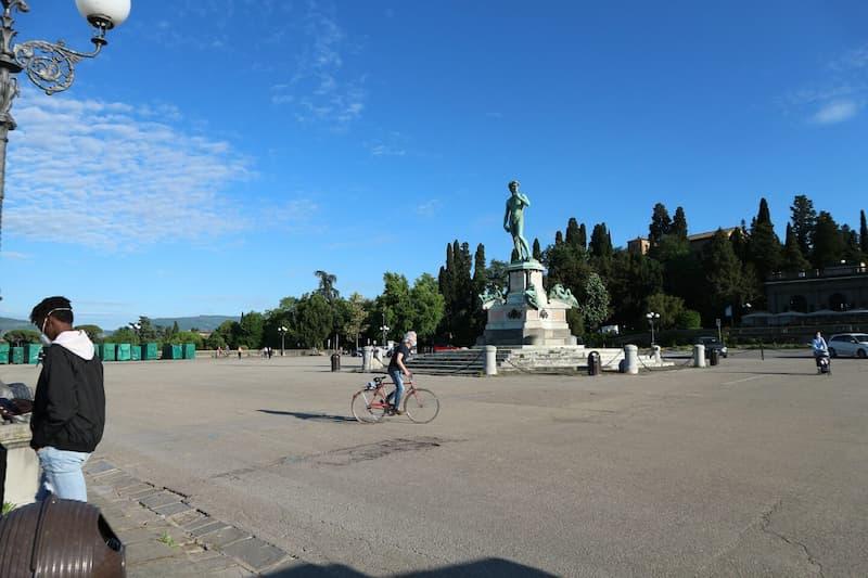 ミケランジェロ広場(il Piazzale Michelangelo)