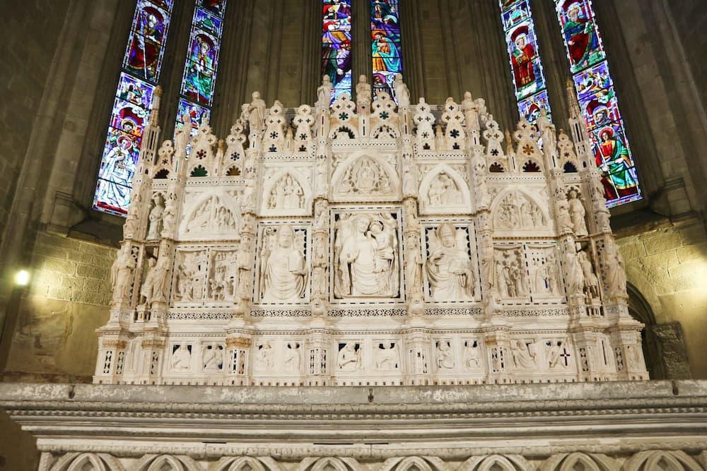 アレッツォ大聖堂の祭壇