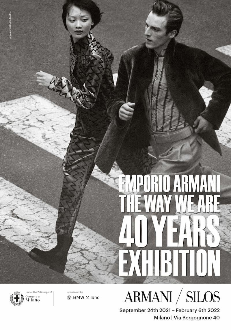 エンポリオ アルマーニ ブランド誕生40周年記念「THE WAY WE ARE」展