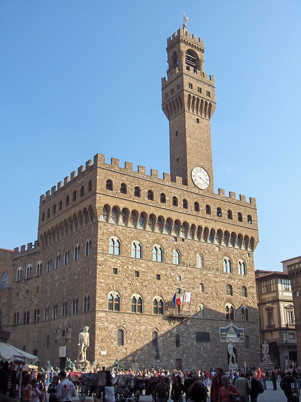 ヴェッキオ宮殿(=フィレンツェ市庁舎)