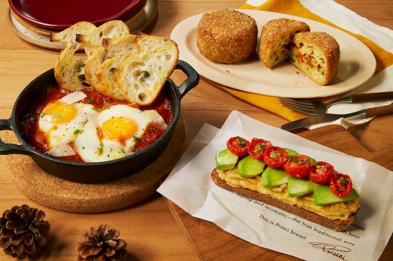 プリンチ®で楽しむ朝食やランチにおすすめの秋の新商品