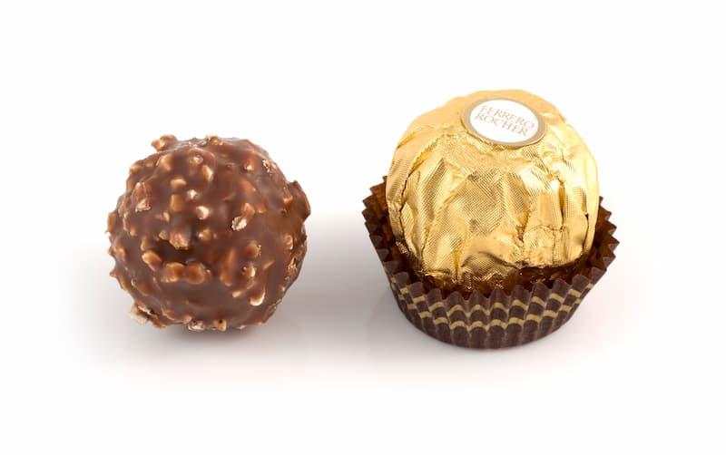 イタリア生まれのチョコレートフェレロ ロシェ