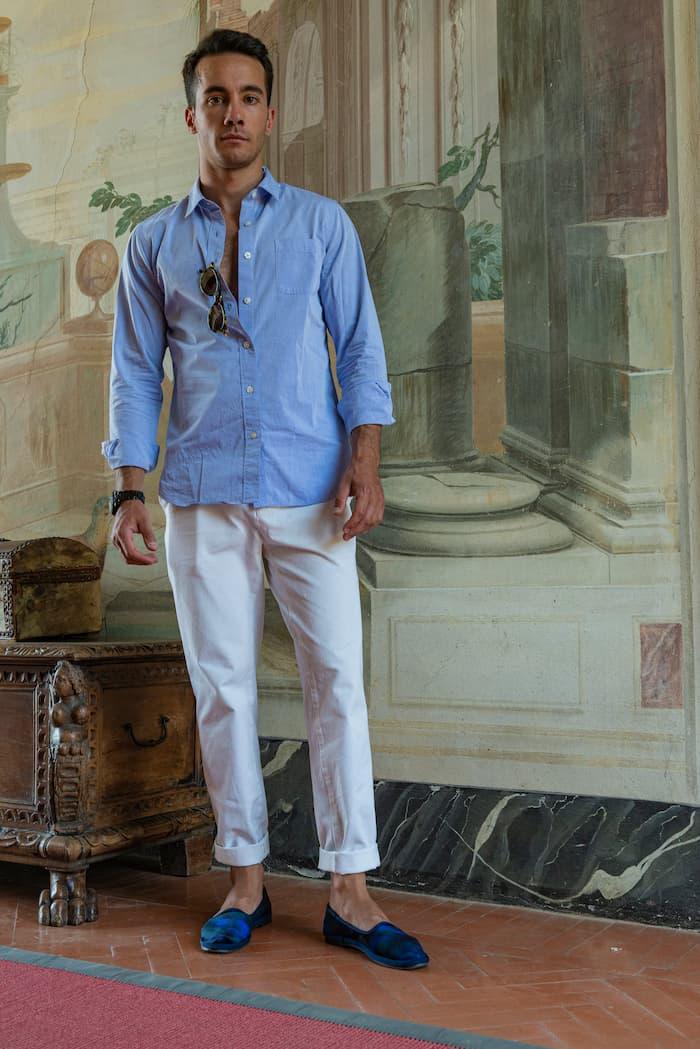 デザイナーのニッコロ・ビアジーニ